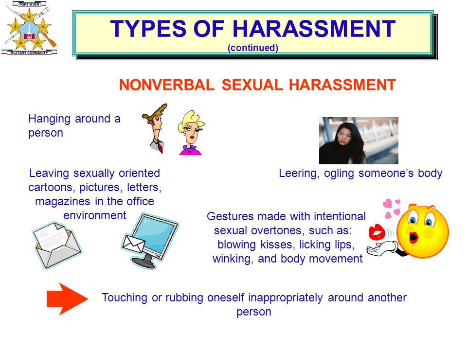 Two Main Forms Of Sexual Harassment