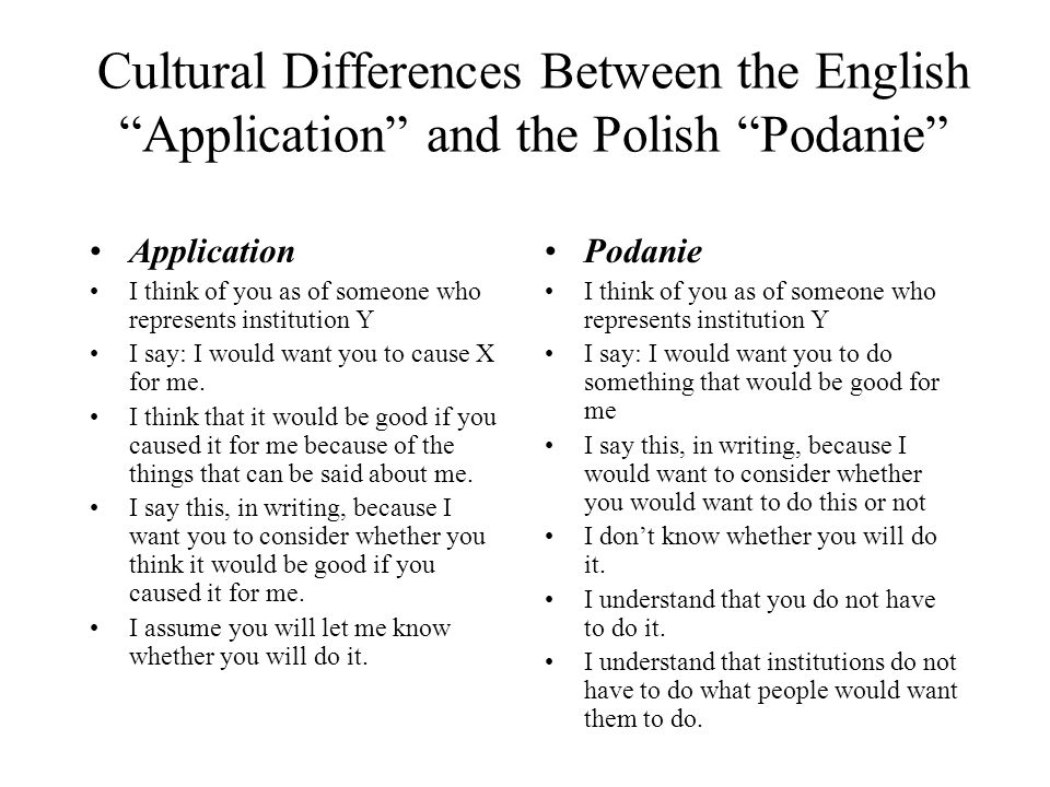 cultural differences between america and poland Polish–american relations were officially established in 1919 since 1989, polish–american relations have been strong and poland is one of the most stable european allies of the united states, being part of both nato and the european union in addition to close historical and cultural ties, poland is one of the most consistently pro-american nations in europe and the world, with 79% of.