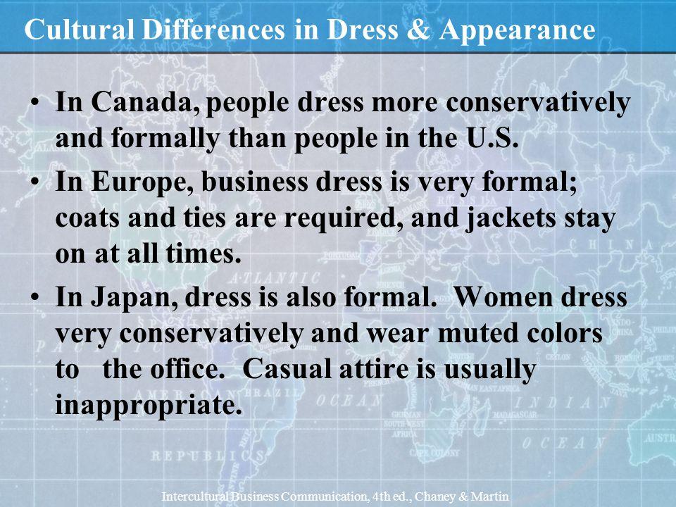 Business Attire in Canada