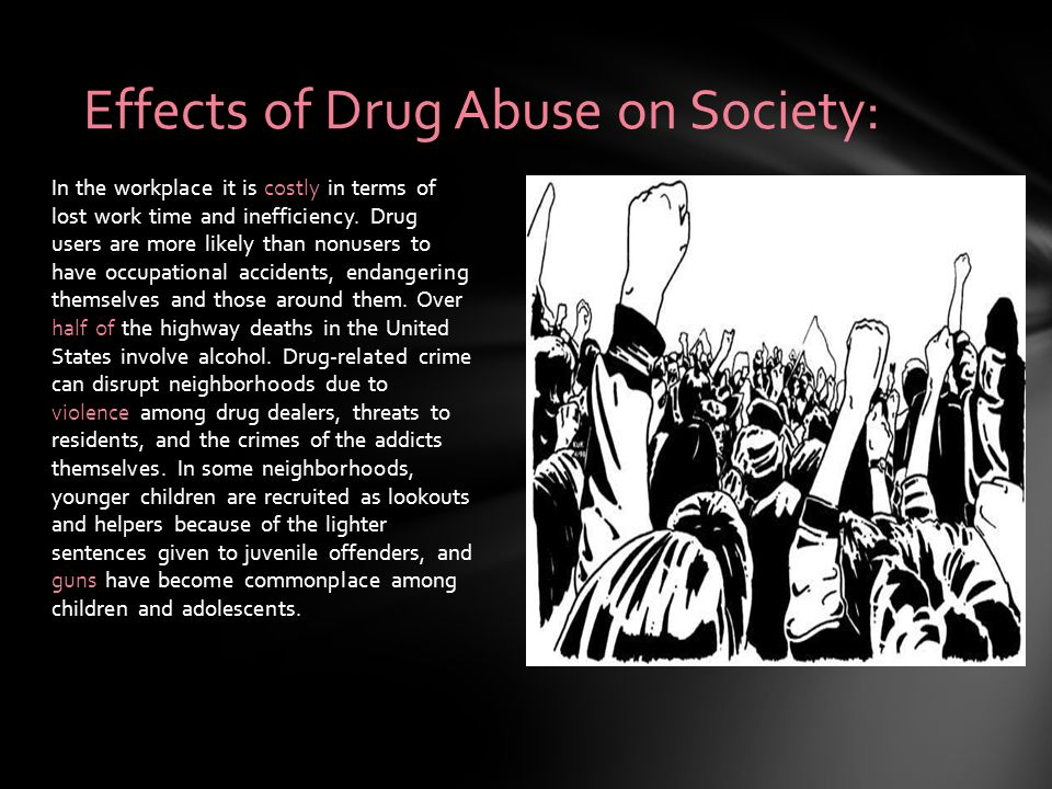 the effects of drug abuse on