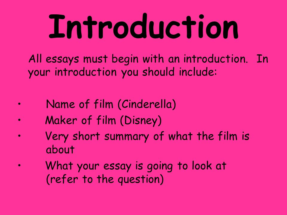 introduction of an essay Structure of a general expository essay introduction, body paragraphs and conclusion in the space provided below introduction: begin your paper with a opening.