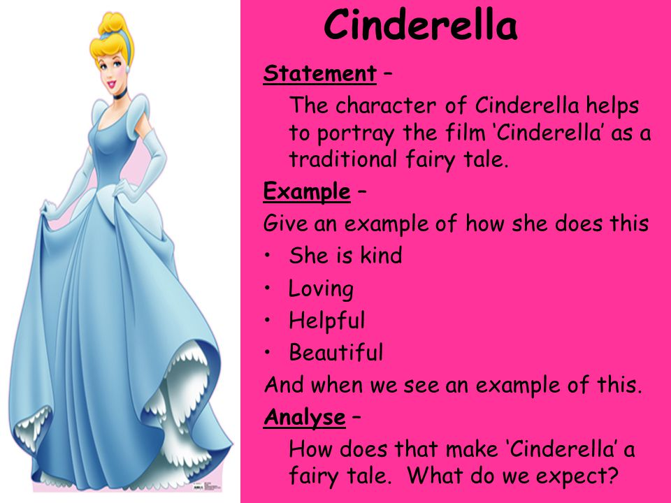 Cinderella essay fairy synthesis tale