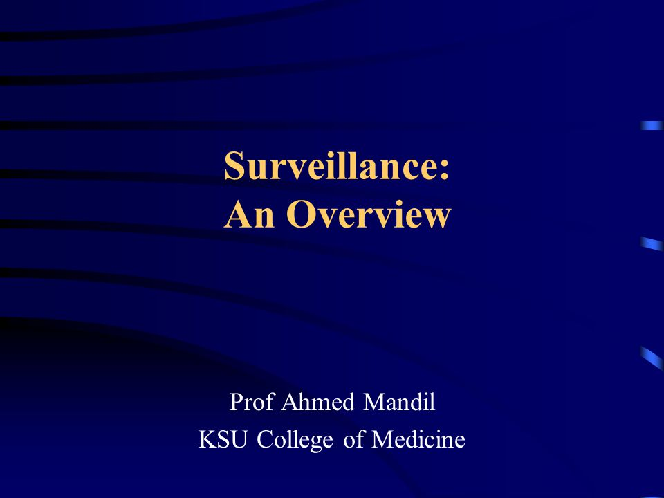 evaluation of surviellance system The evaluation of public health surveillance systems should involve an a public health surveillance system is useful if it contributes to the.