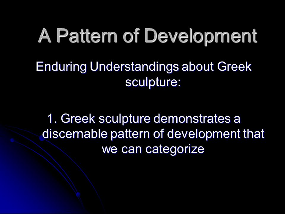 1 1 explain the pattern of development 1 introduction the central problem of the development of form and pattern is  how  this view of polarity appears capable of explaining a wide variety of.