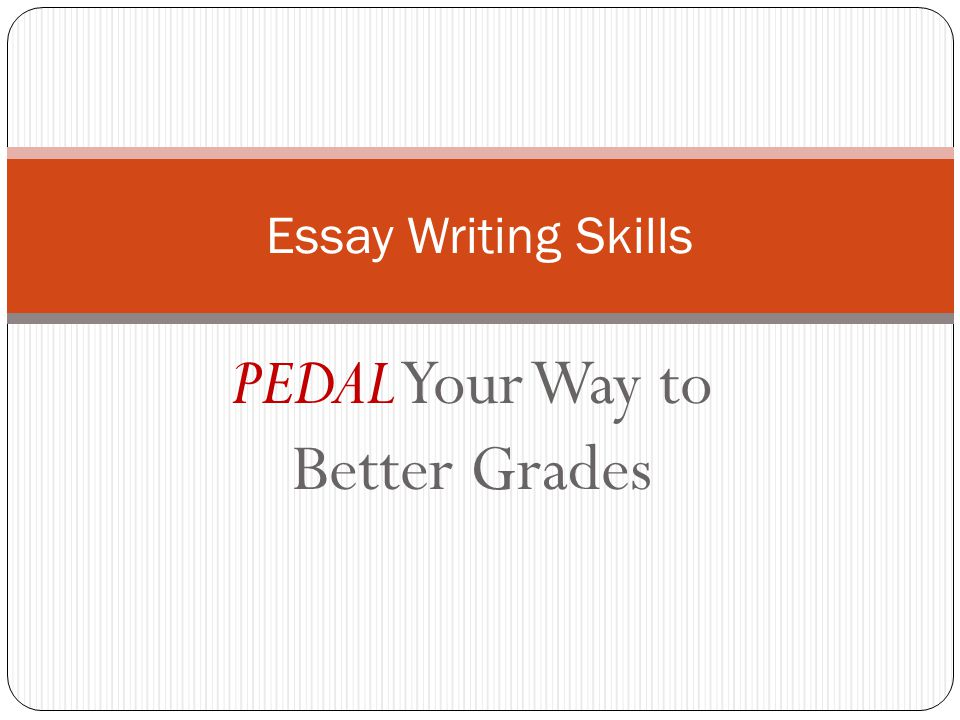 ways to get good grades essay Thursday, june 23, 2011 - page 1 of 7 how to write an a-grade college essay know your essay subject you must learn to write essays from an excess of knowledge.