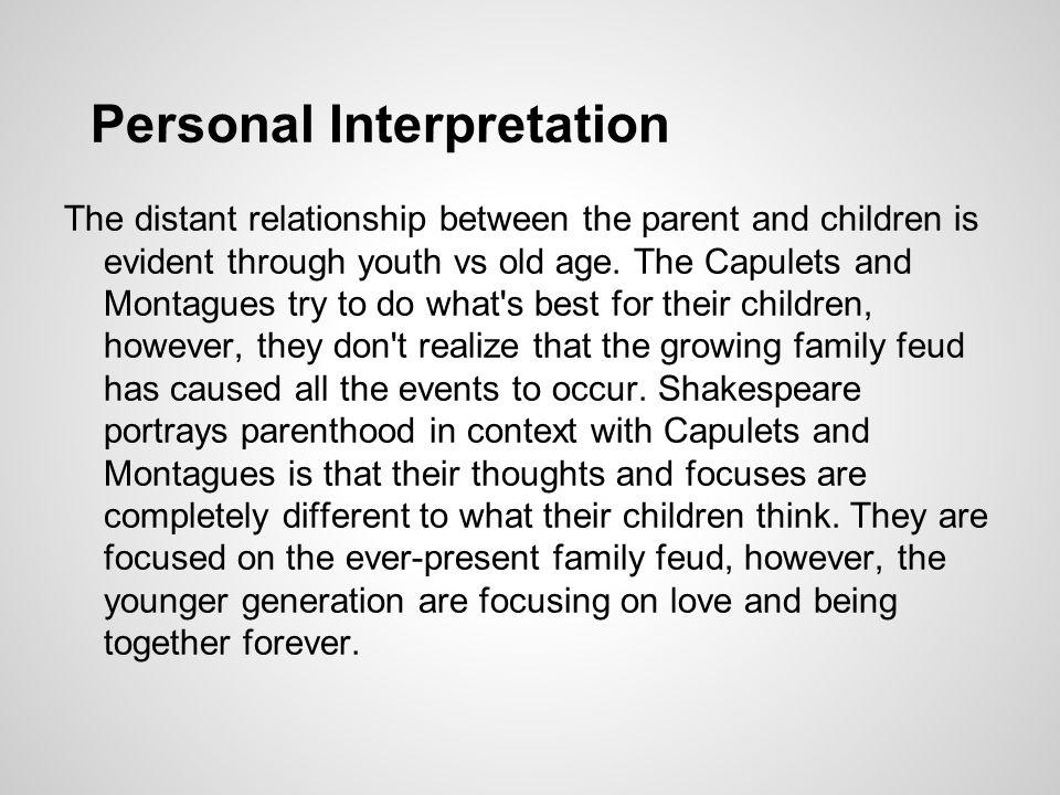 Personal Interpretation