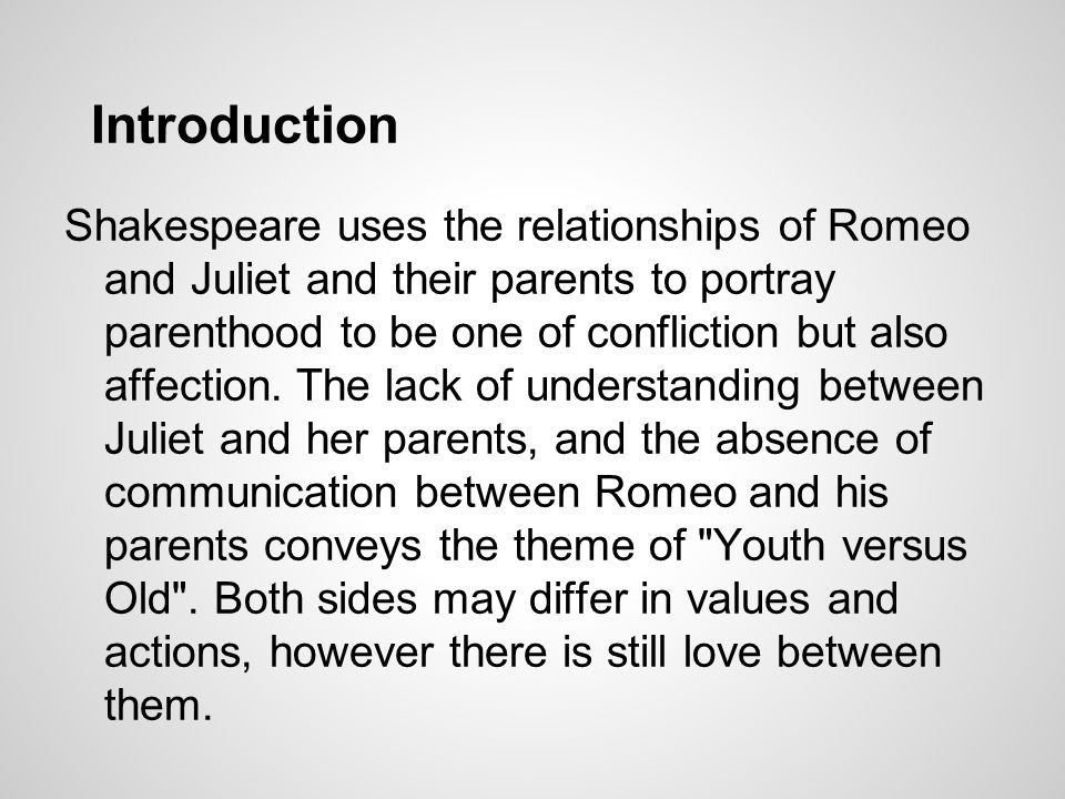 how does the relationship between capulet and juliet change