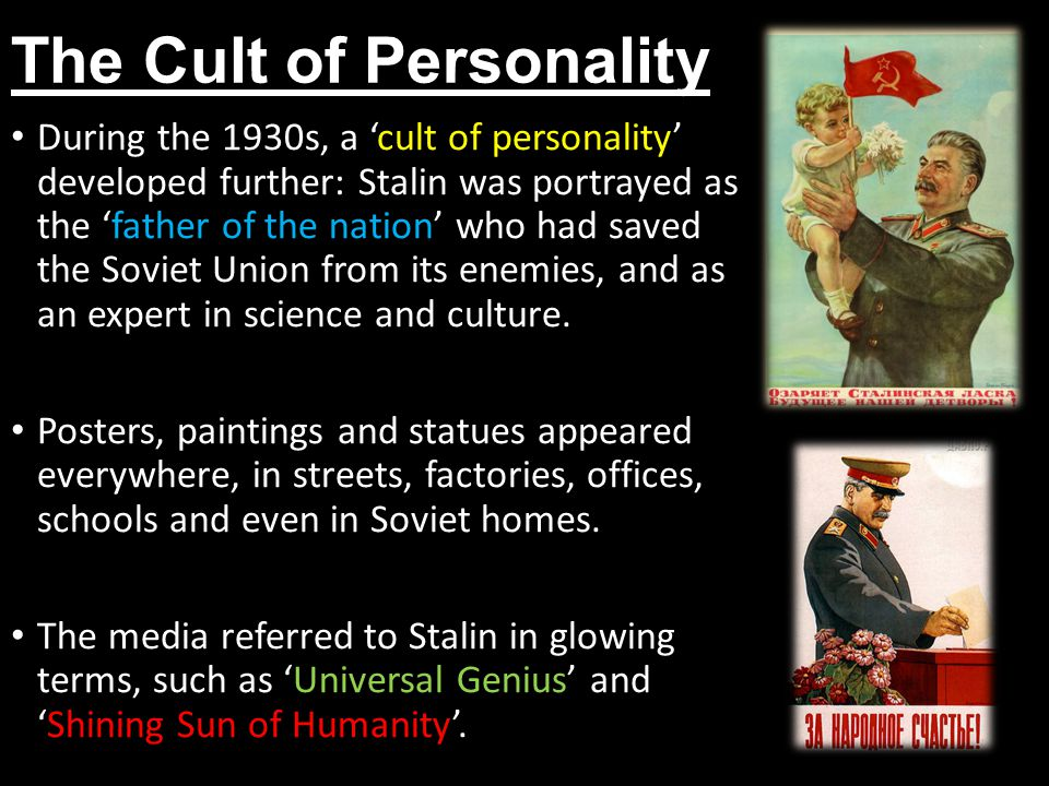 the cult of stalin essay