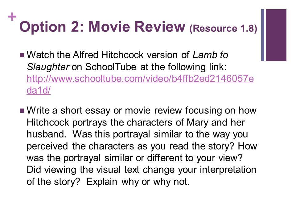 analysis of the lamb essay