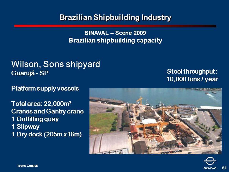 Brazilian Shipbuilding Industry Brazilian shipbuilding capacity