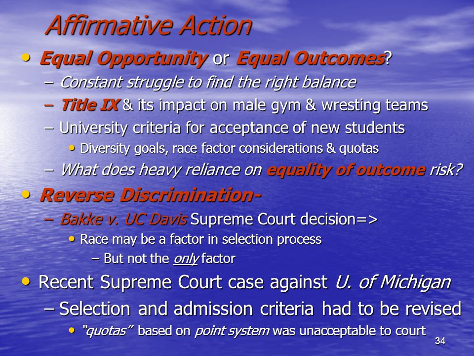 Equal Opportunity/Affirmative Action Statement