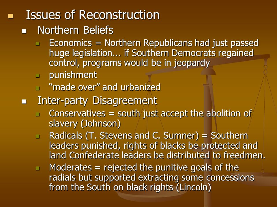Reconstruction And The New South Ppt Video Online Download