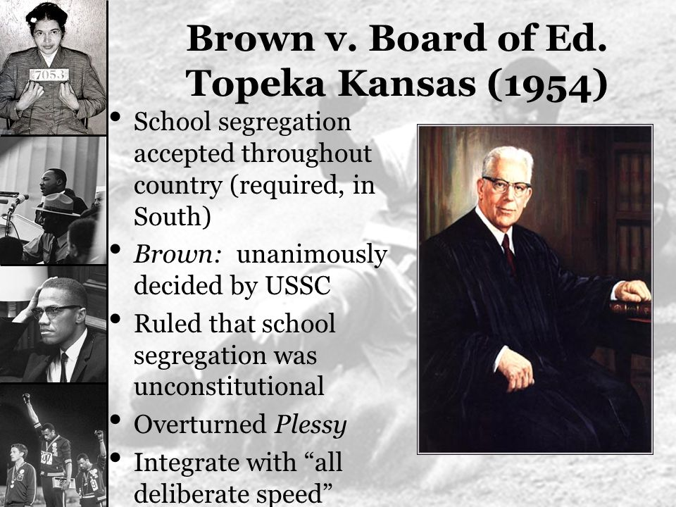 Brown v. board of education of topeka essay