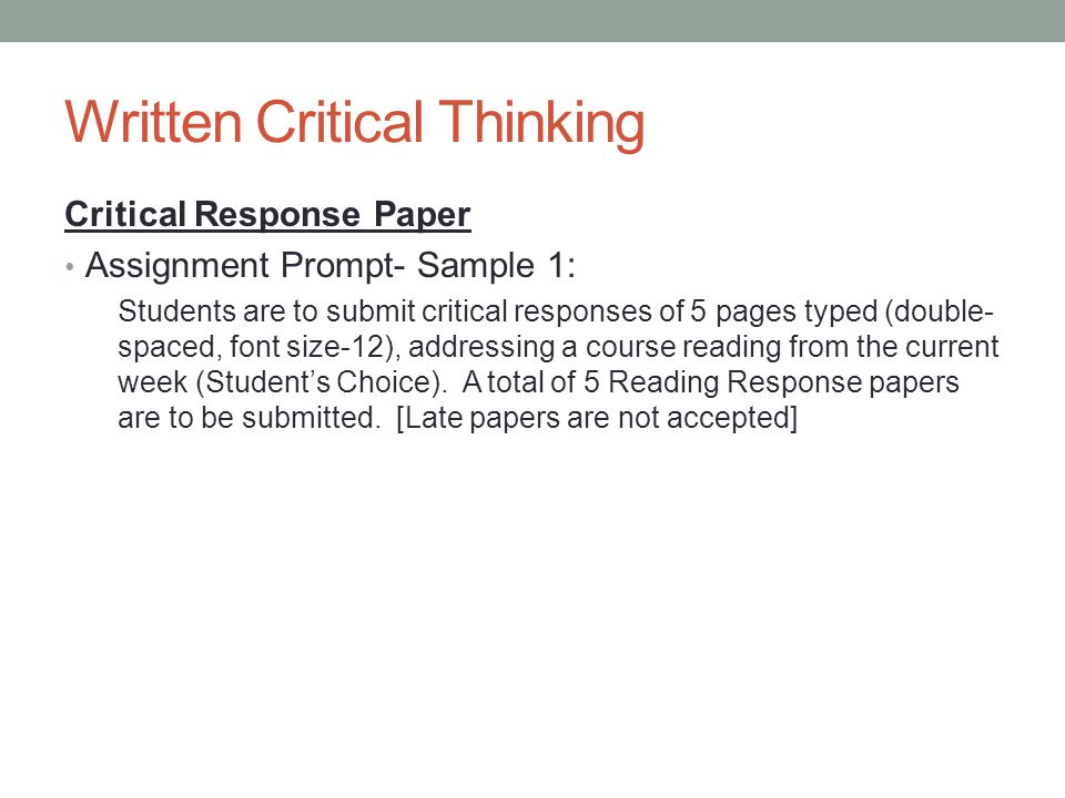 critical thinking thoughtful writing a rhetoric with readings