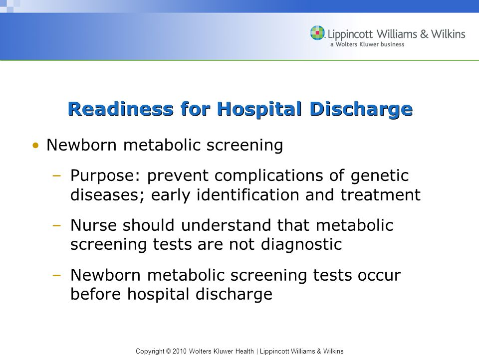 Readiness for Hospital Discharge
