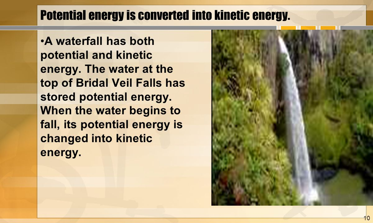 Kinetic Energy Video Energy Transformations Ppt Video Online Download