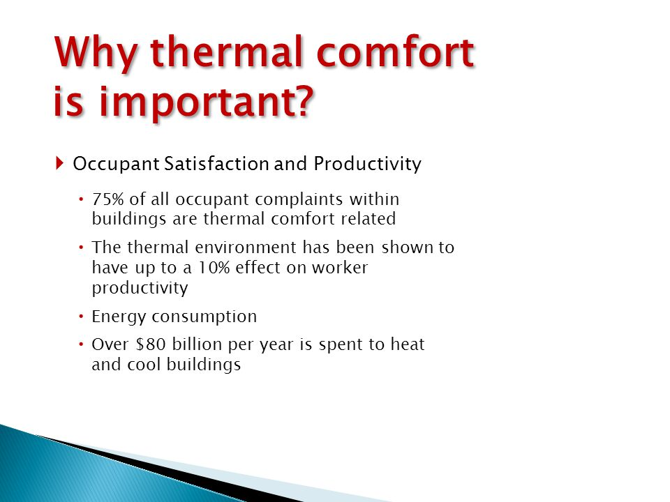 Chapter 4 Thermal Comfort - ppt download