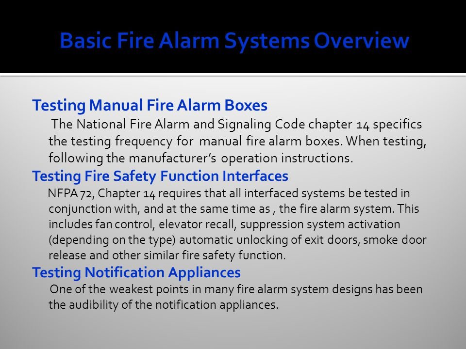 Fire Alarm System Design and Installation Guidelines 02-04-10