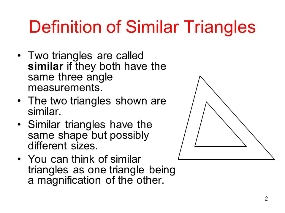 how to tell if triangles are similar or congruent