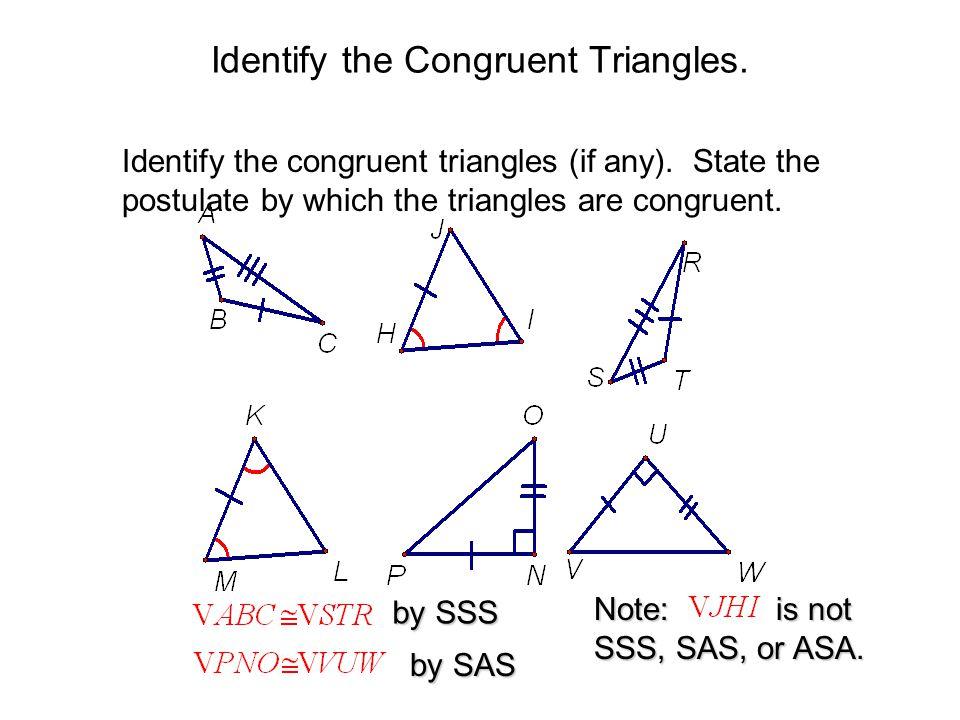 Congruent Triangles Worksheet Mathbits - Breadandhearth