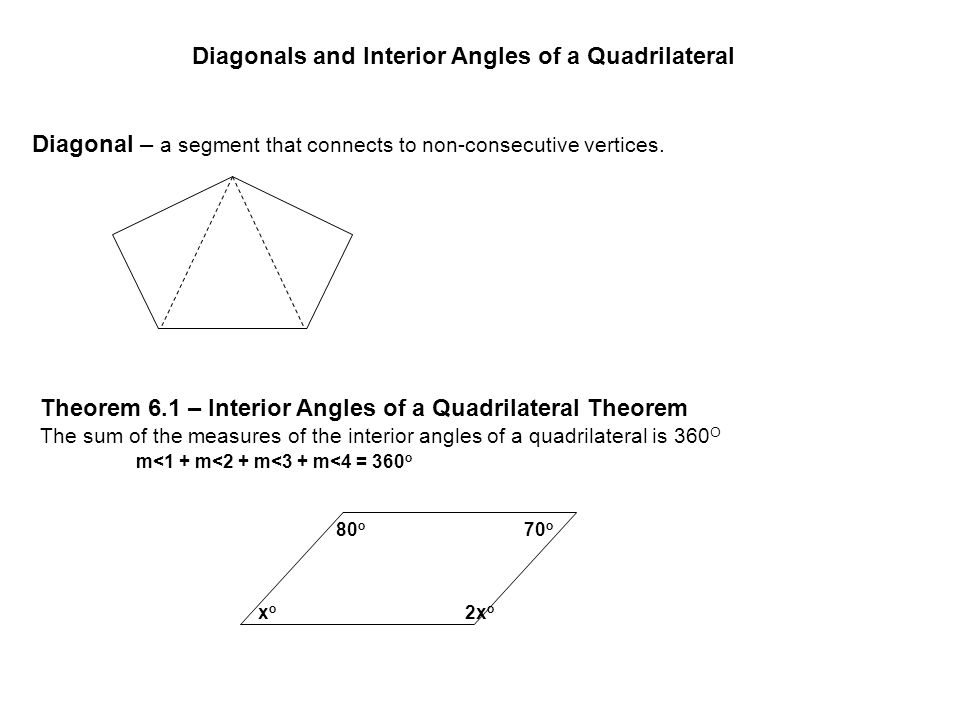 Quadrilaterals and polygons ppt video online download - Kuta software exterior angle theorem ...