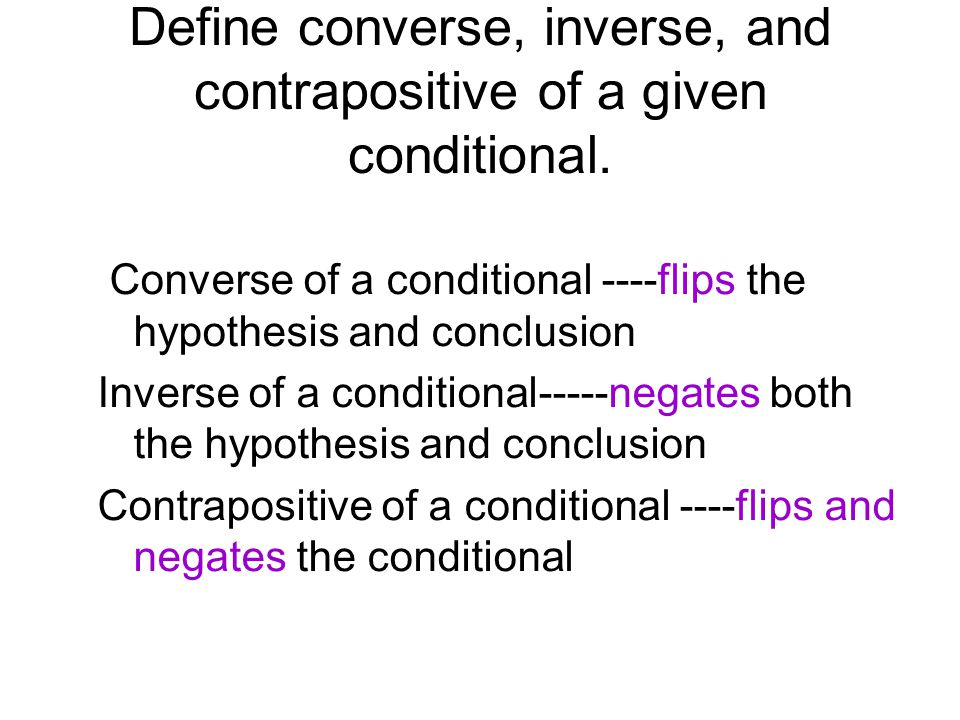 Converse Inverse Contrapositive Worksheet Worksheets for all ...