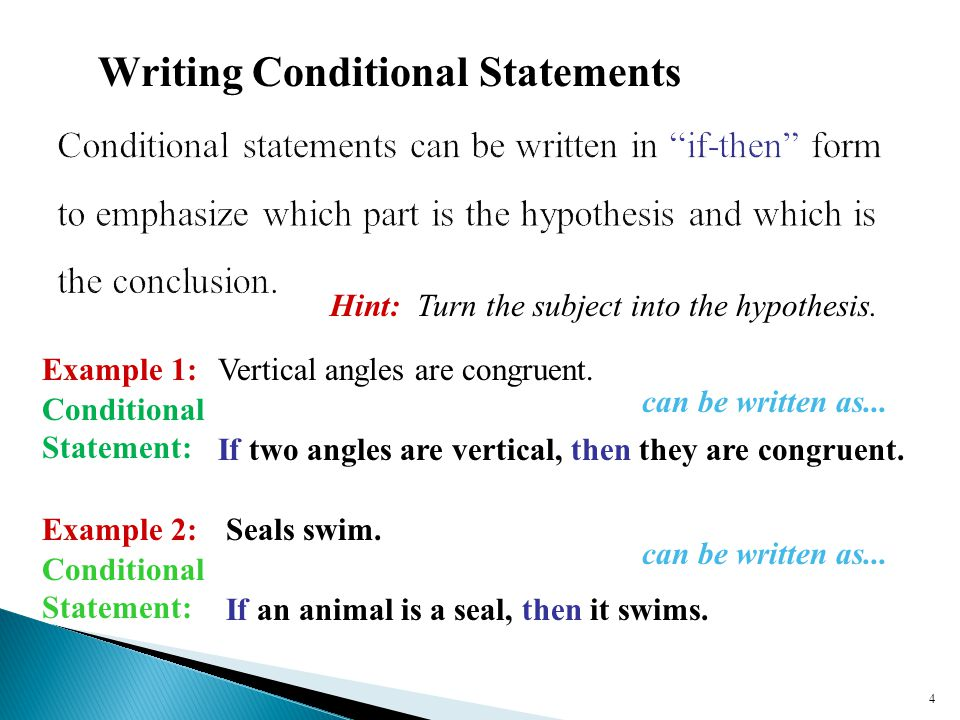 Conditional Statements - ppt download