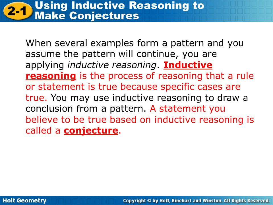 Inductive and deductive reasoning worksheets pdf