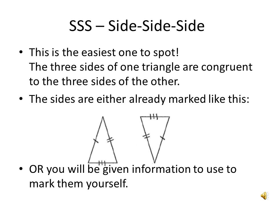 how to find side of triangle with one side