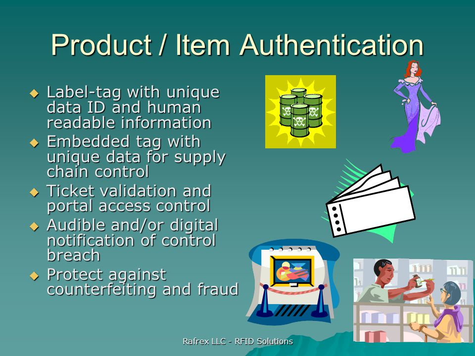 Product / Item Authentication