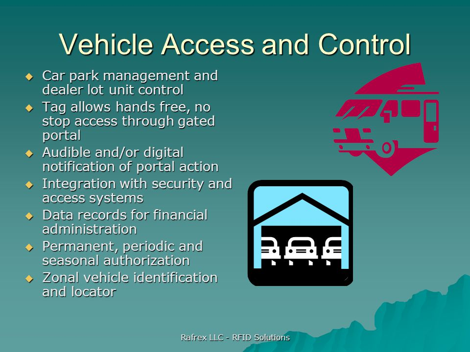 Vehicle Access and Control