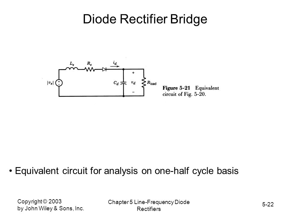 Diode Rectifier Bridge