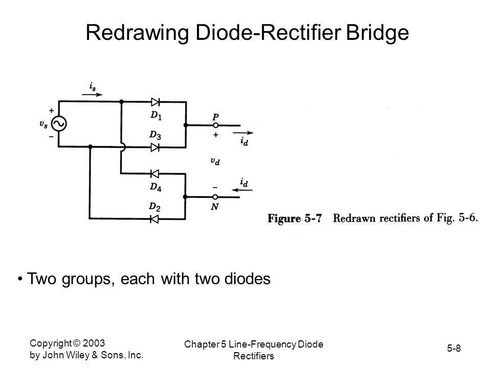 Redrawing Diode-Rectifier Bridge