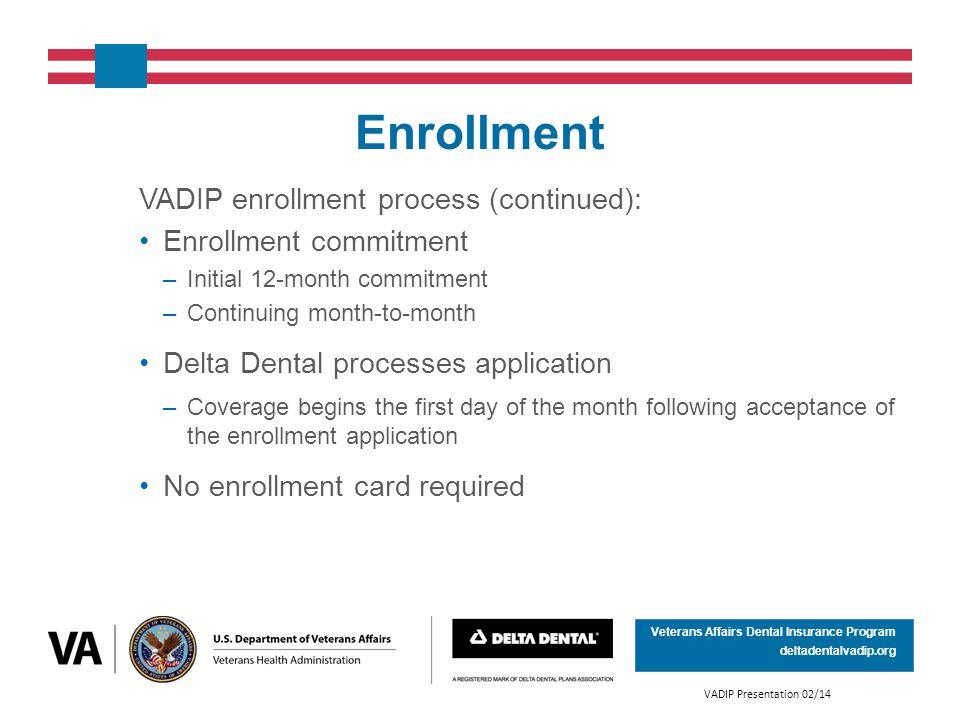for enrollment proceedures