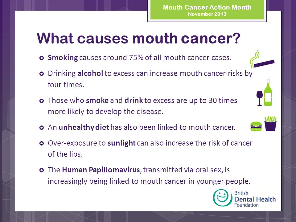 Can oral sex cause oral cancer opinion