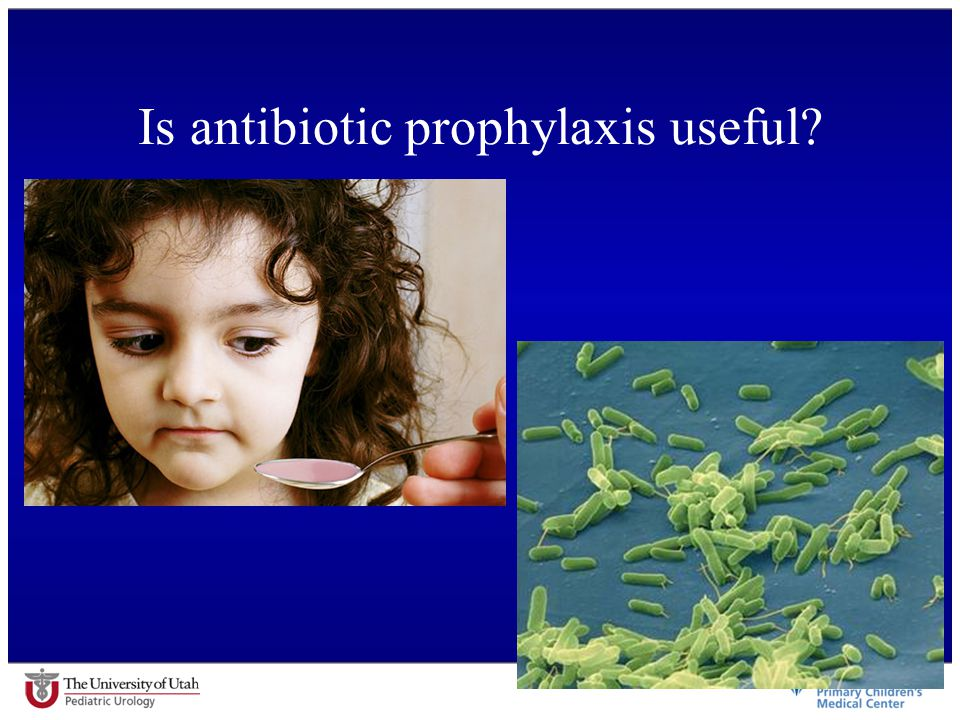 Is antibiotic prophylaxis useful