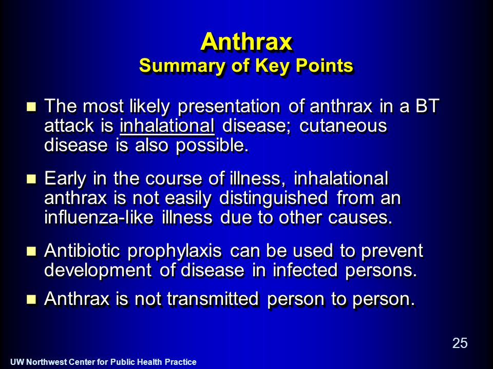 an epidemic of inhalation anthrax the first in the twentieth century essay This decline was so significant that during the entire 20th century there were the first anthrax and was the largest outbreak of inhalation anthrax in.