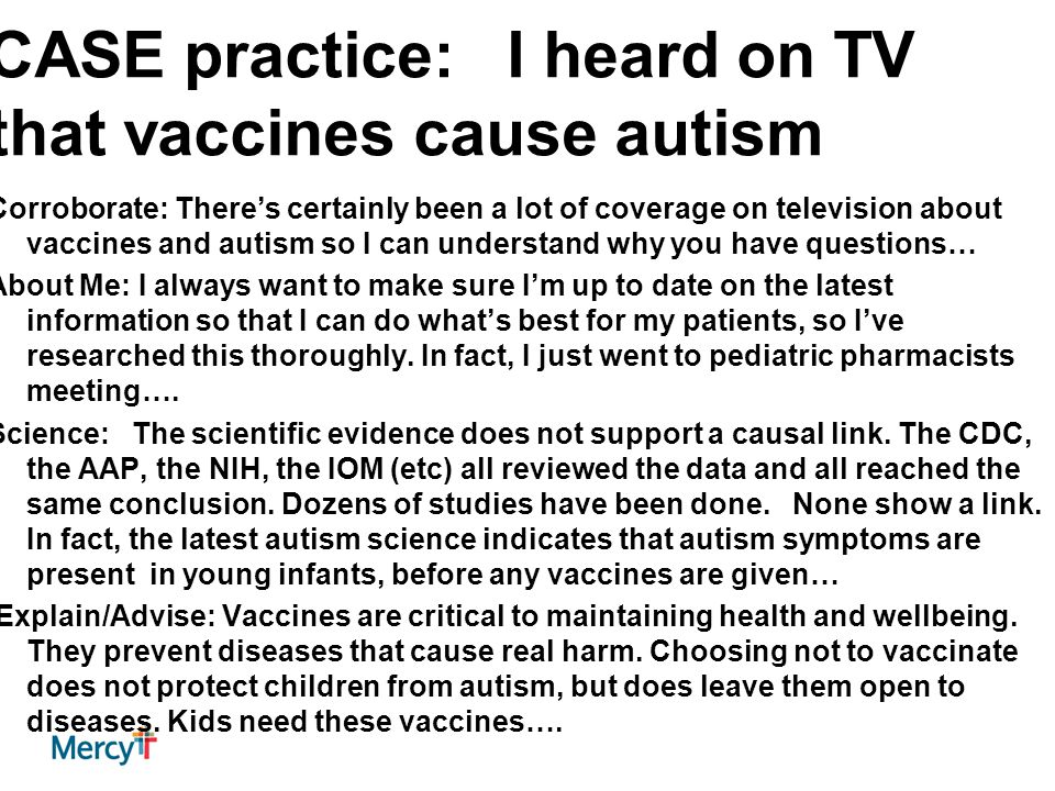 case study autism and vaccines These case studies cannot be viewed in internet explorer pediatrics case study 2: madison (18 months) - autism, aluminum pediatrics case study 6: nick (11 years) - hpv vaccine adult case study 1: aubrey.