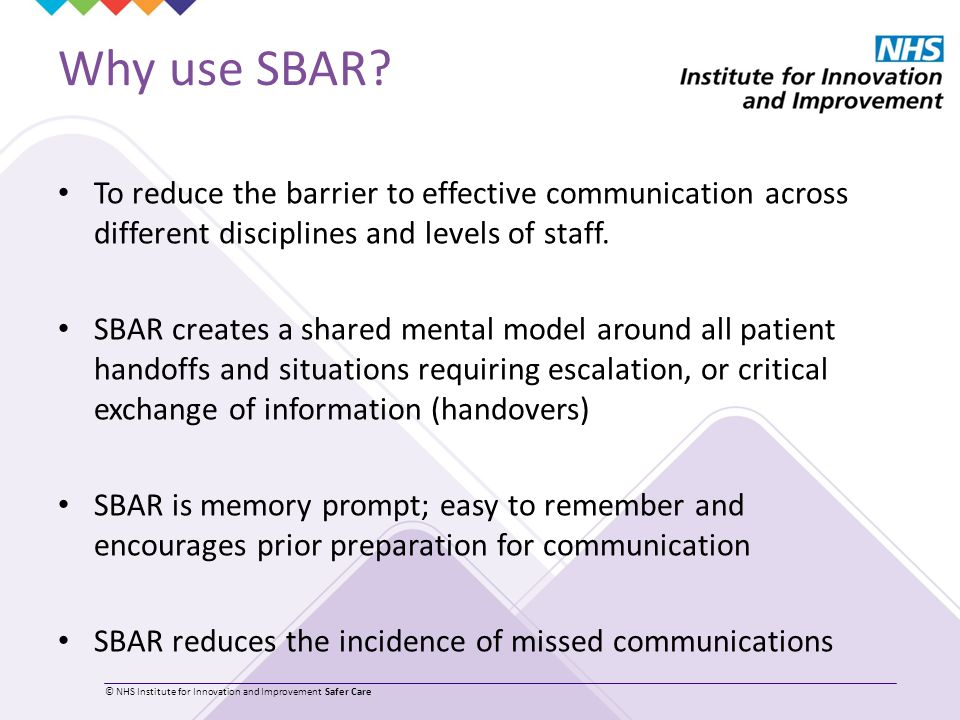 SBAR Situation Background Assessment Recommendation - ppt video ...