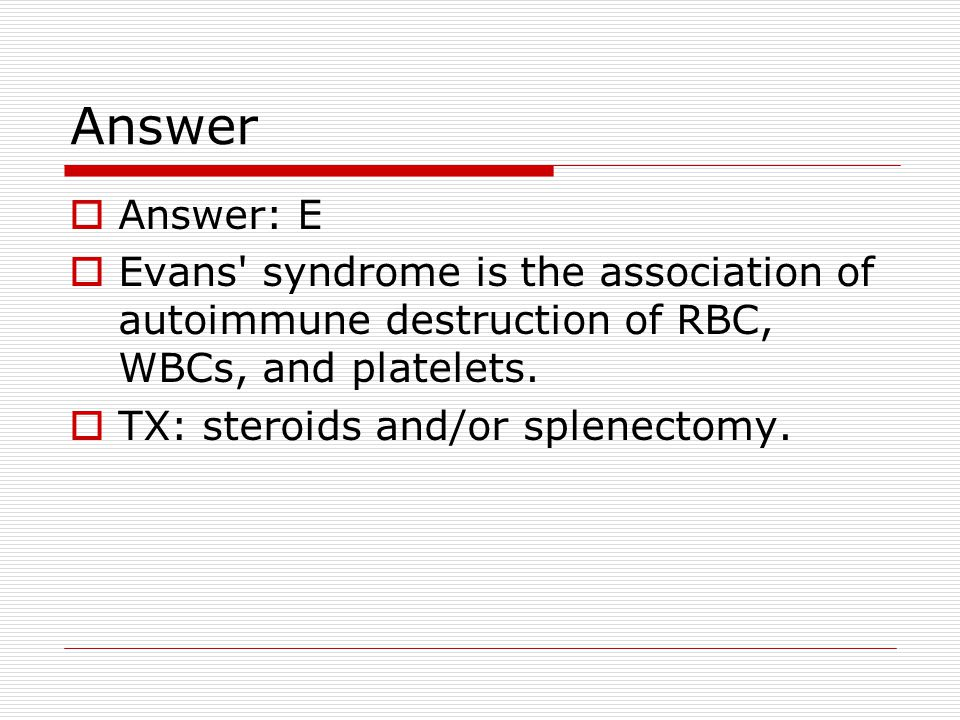 evans syndrome svenska
