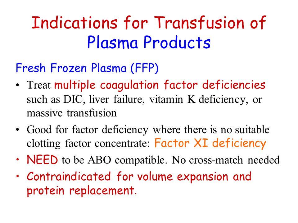 hellp fresh frozen plasma