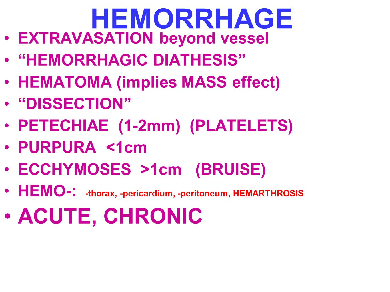hemorrhagic diasthesis Cervical cancer and screening study play colposcopy medical diagnostic procedure to examine an illuminated, magnified view of the cervix and the tissues of the vagina and vulva colposcopy is used to pinpoint which areas to biopsy  systemic: purpura, hemorrhagic diasthesis, iatrogenic (iud, drugs, ocps) early signs of invasive cervical.