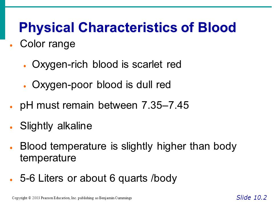 Human Anatomy And Physiology Chapter 10 Blood – Periodic & Diagrams