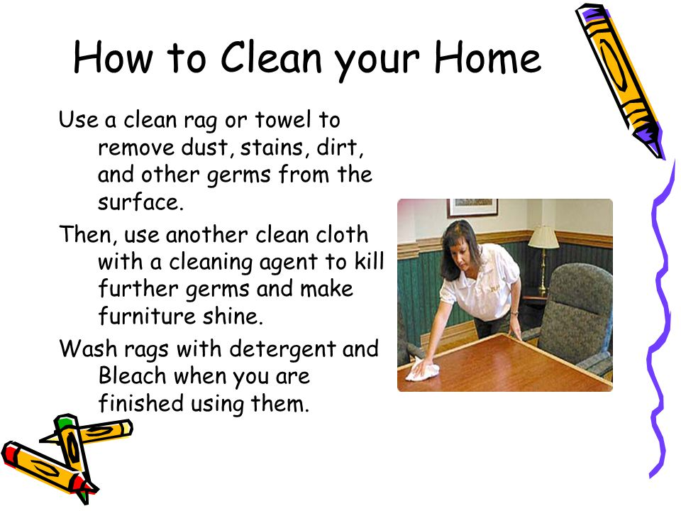 how to keep your home clean and healthy ppt video online download. Black Bedroom Furniture Sets. Home Design Ideas