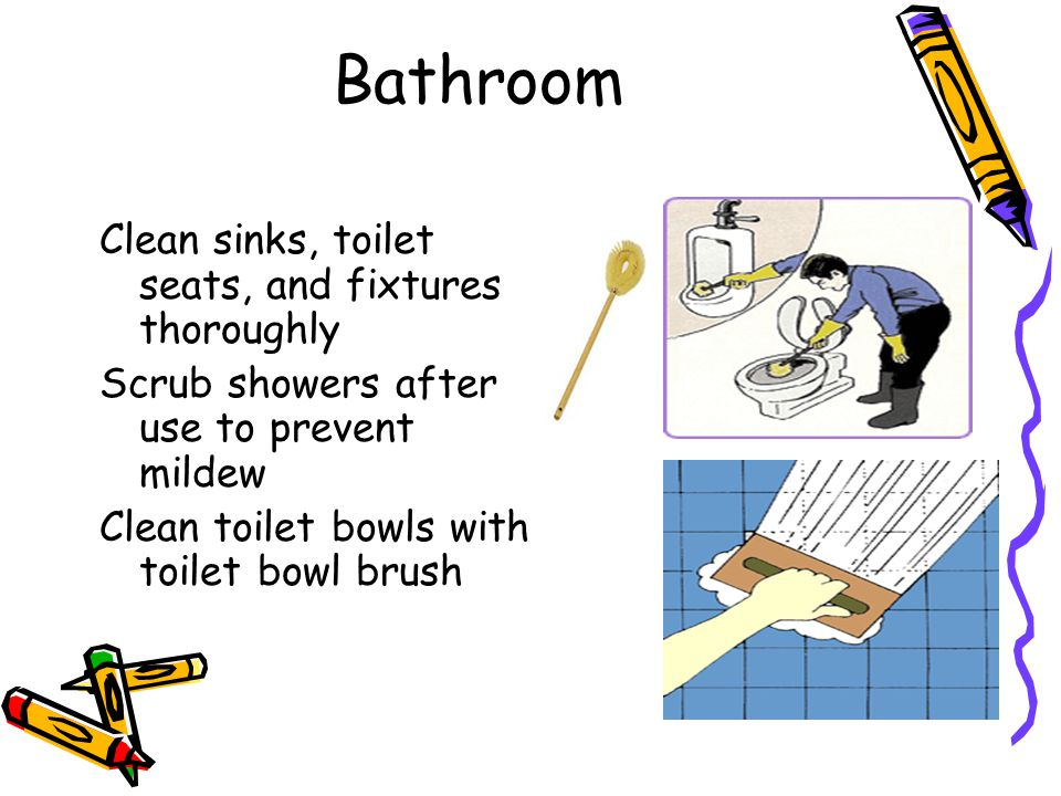 How to keep your home clean and healthy ppt video online How to thoroughly clean your bathroom