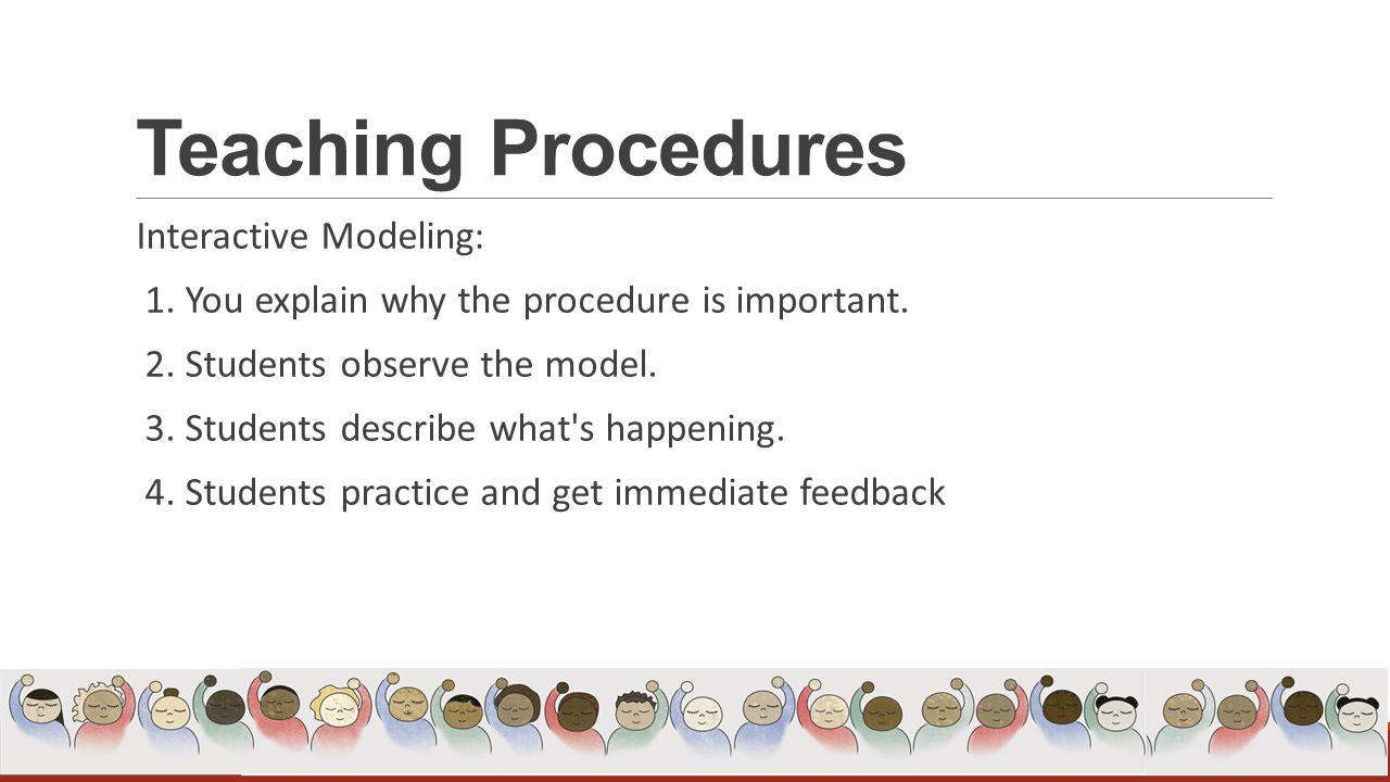 Step 1 Teaching Procedures Ppt Download