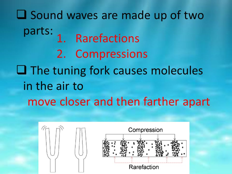 chapter 3 of the sound of waves Chapter 3: modes, overtones, and harmonics 27  chapter 7: percussion  instruments 97  his manual covers the physics of waves, sound, music,  and.