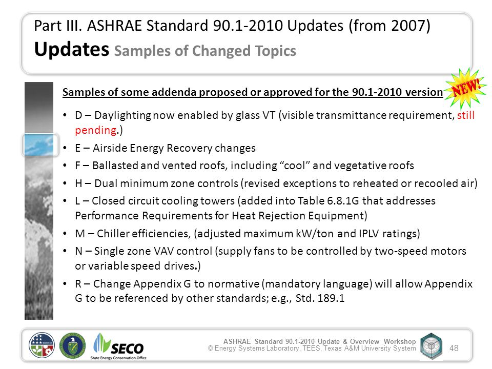 Ansi ashrae iesna standard 90 1 2010 update for Table 6 1 minimum ventilation rates in breathing zone