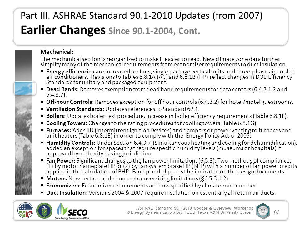 Ansi ashrae iesna standard 90 1 2010 update for Ashrae 62 1 table 6 1