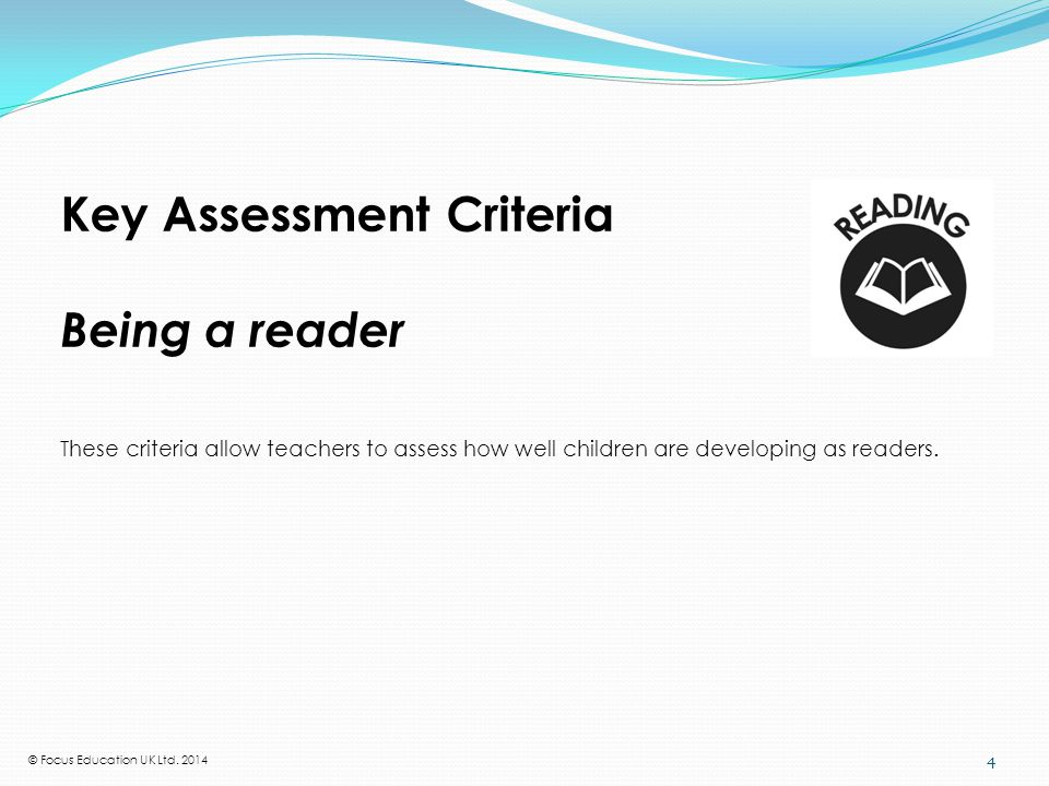 What the National Curriculum requires in reading at Y1